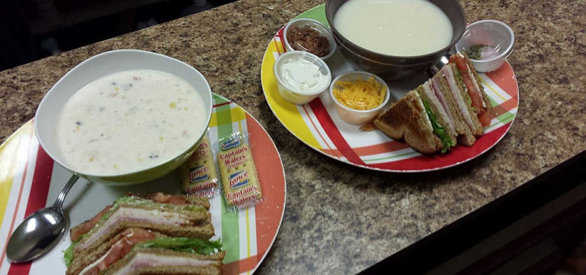 Popular! Sandwich and Soup Combo